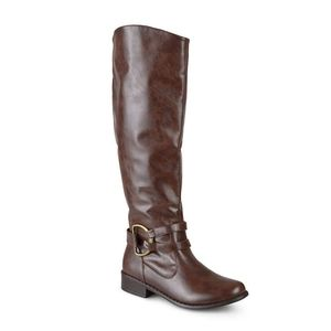 Journey Collection Charming Knee High Riding Boots